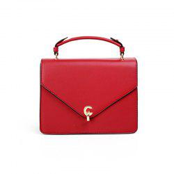 All Match Simple Solid Color Handbag for Women -