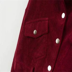 New Ladies' Autumn Corduroy Retro Jacket -