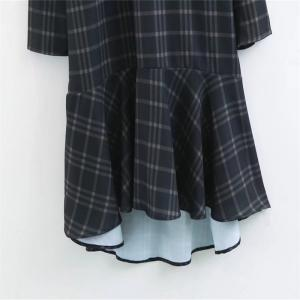 New Ladies' Dark Plaid Mini Skirts in 2017 -