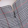 2017 New Ladies' Lace Plaid Pullovers -