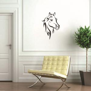 ... DSU Hot Sale Head Of Horse Wall Stickers Murals Living Room Decorative  Animal Vinyl Removable Wallpaper ... Part 64
