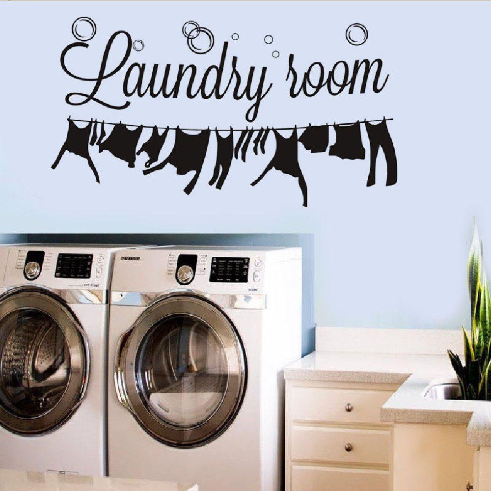 Laundry room wall decals canada wall murals wall stickers laundry room the new sticker design amipublicfo Image collections
