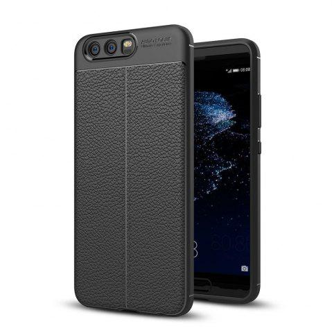 Trendy Shockproof Back Cover Solid Color Soft TPU Case for Huawei P10