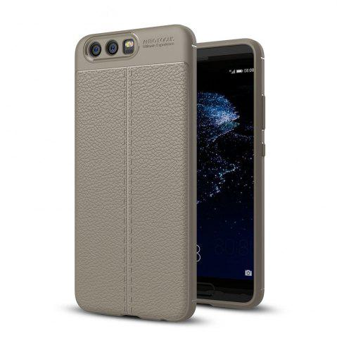 Chic Shockproof Back Cover Solid Color Soft TPU Case for Huawei P10