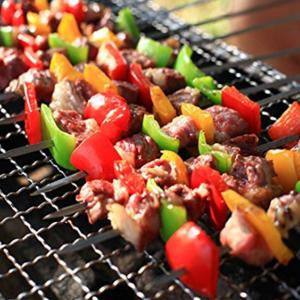 Barbecue Net Rectangle Shape Grill Baking Grid Outdoor Grilling Camping -