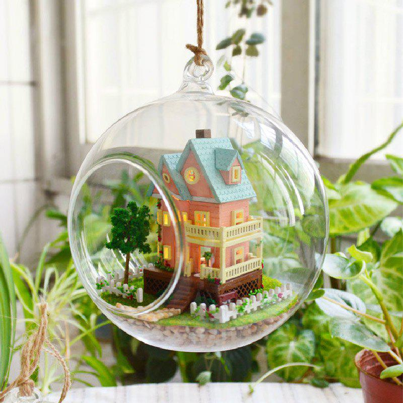 Chic DIY Cottage Glass Ball