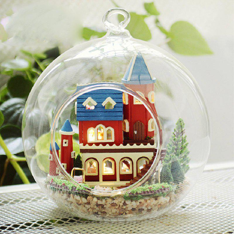 Chic DIY Castle Glass Ball