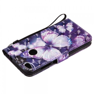 Explosions 3D Painted PU Phone Case for HUAWEI P8 Lite 2017 -