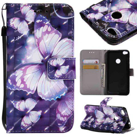 Hot Explosions 3D Painted PU Phone Case for HUAWEI P8 Lite 2017