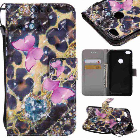 Fancy Explosions 3D Painted PU Phone Case for HUAWEI P8 Lite 2017