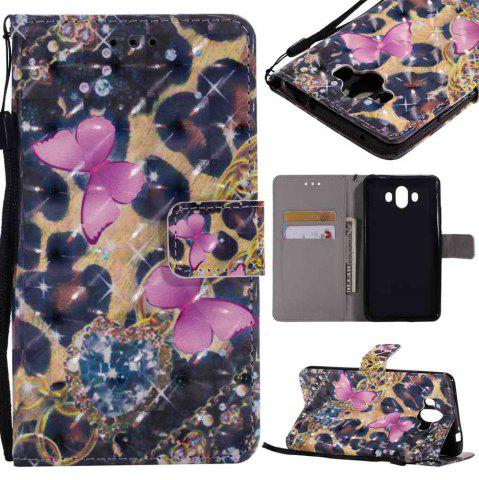 Shop Explosions 3D Painted PU Phone Case for HUAWEI Mate 10