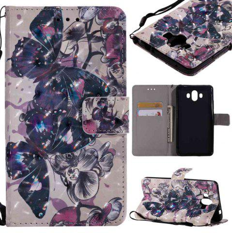 Outfit Explosions 3D Painted PU Phone Case for HUAWEI Mate 10