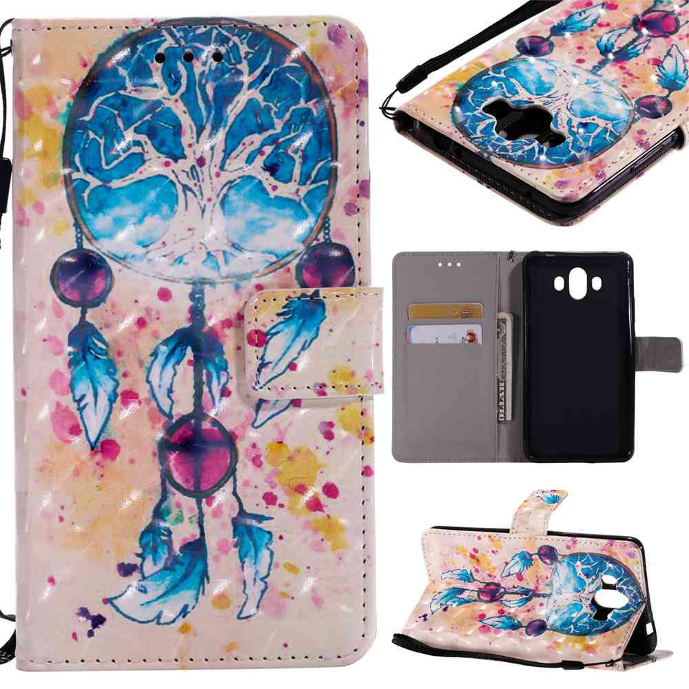 Discount Explosions 3D Painted PU Phone Case for HUAWEI Mate 10