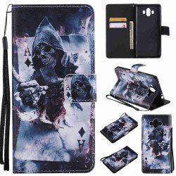 Magician Painted Pu Phone Case for HUAWEI Mate 10 -