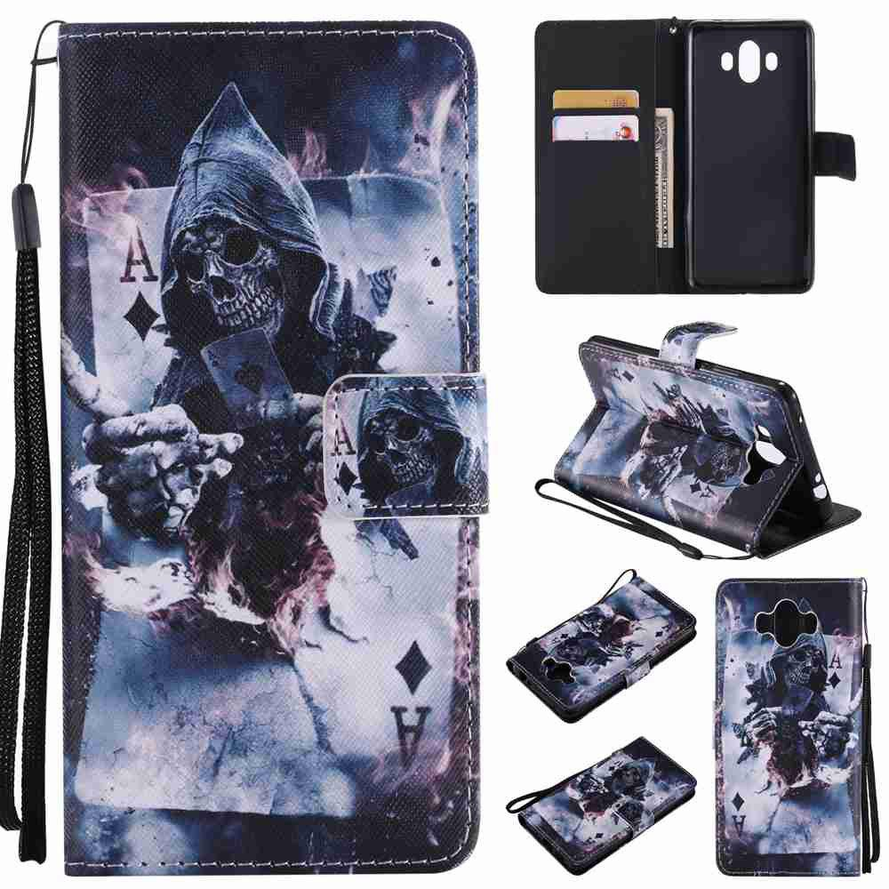 Store Magician Painted Pu Phone Case for HUAWEI Mate 10