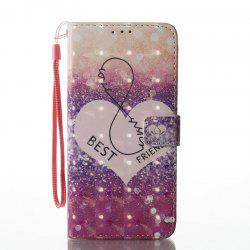 Wkae Multicolour Pattern кожаный чехол для Samsung Galaxy S8 Plus -