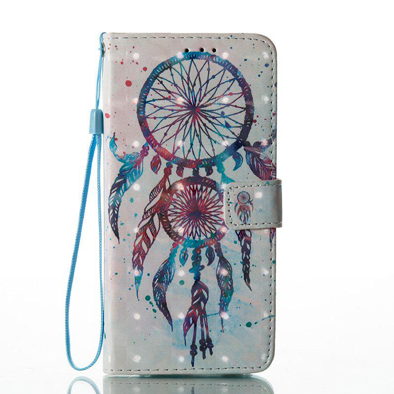 Online Wkae Multicolour Pattern Leather Case for Samsung Galaxy S8 Plus