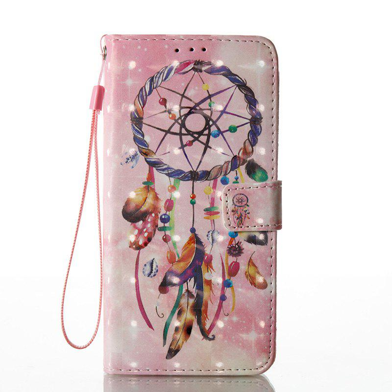 Best Wkae Multicolour Pattern Leather Case for Samsung Galaxy S8 Plus