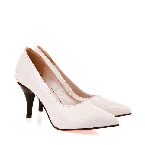 Женская обувь Basic Pointed Toe Stiletto Heel Pumps Dress Office