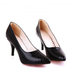 Женская обувь Basic Pointed Toe Stiletto Heel Pumps Dress Office -