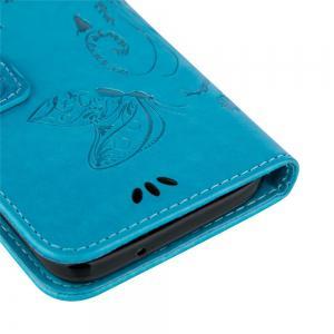 Embossed Butterfly Mobile Phone Protective Cover for Samsung S7 -