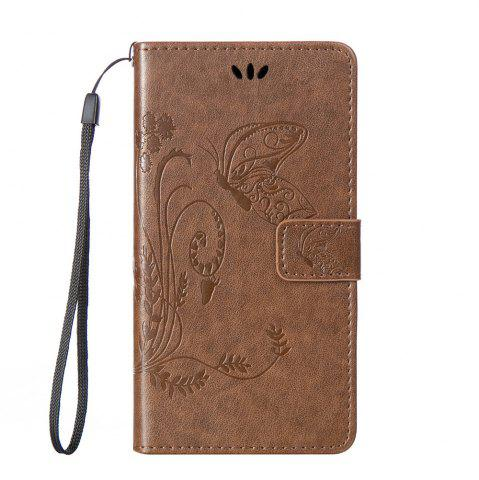 Fashion Embossed Butterfly Mobile Phone Protective Cover for Samsung S7