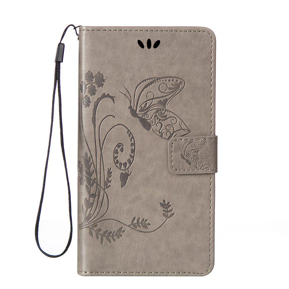 Unique Embossed Butterfly Mobile Phone Protective Cover for Samsung S7