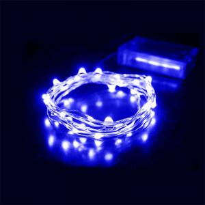 30 - LED Lights Battery Powered Copper Wire String Lights Home Decoration -