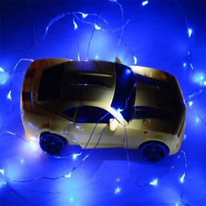5M 50 - LED Lights Battery Powered Copper Wire String Lights Home Decoration -