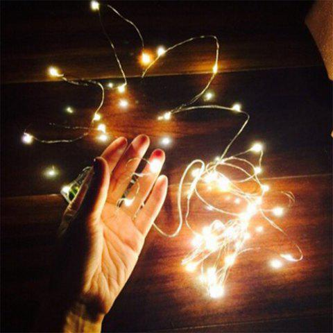 Latest 5M 50 - LED Lights Battery Powered Copper Wire String Lights Home Decoration