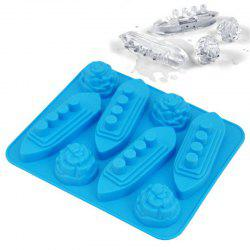 Ship Shape Ice Tray Silicone Mold -