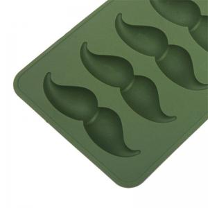 Moustache Shape Ice Tray Silicone Mold -