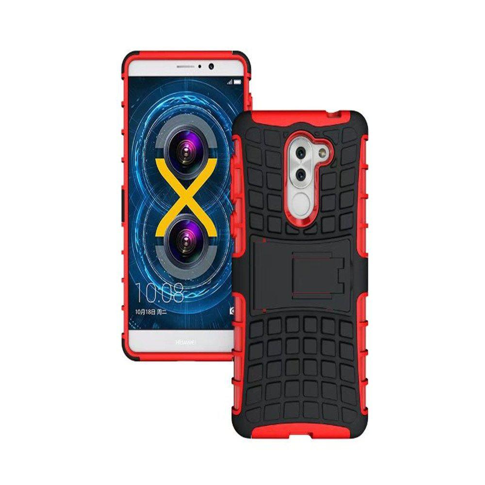 Fancy Tough Phone Cases Heavy Duty Armor Shockproof Silicon Rugged Hard Cover for Huawei Honor 6X Shell 5.5