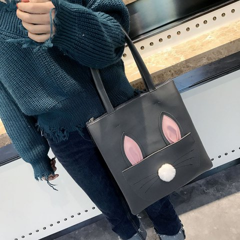 Sac à bandoulière grand sac à main simple PU Shopping CY489