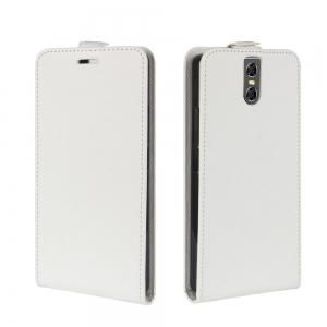 Durable Crazy Horse Pattern Up and Down Style Flip Buckle PU Leather Case for Doogee BL7000 -