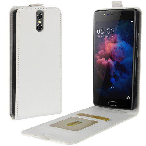 Buy Durable Crazy Horse Pattern Up and Down Style Flip Buckle PU Leather Case for Doogee BL7000