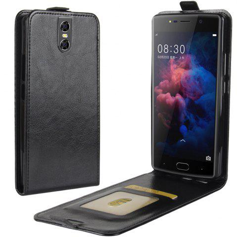 Store Durable Crazy Horse Pattern Up and Down Style Flip Buckle PU Leather Case for Doogee BL7000