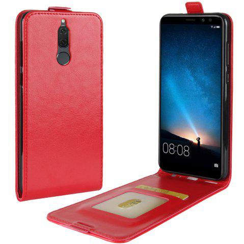 Best Durable Crazy Horse Pattern Up and Down Style Flip Buckle PU Leather Case for Huawei G10