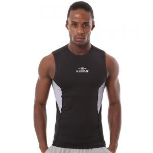 Quick-drying Wide Shoulder Sport Vest Fitness Gym Clothes Elastic Sleeveless -