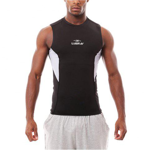 Cheap Quick-drying Wide Shoulder Sport Vest Fitness Gym Clothes Elastic Sleeveless
