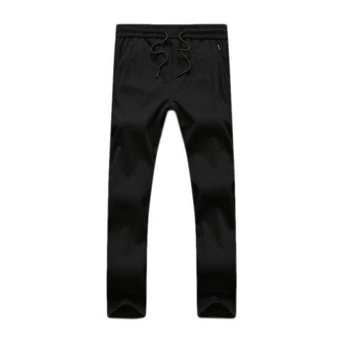Buy Men's Straight Tube Trim Sweatpants