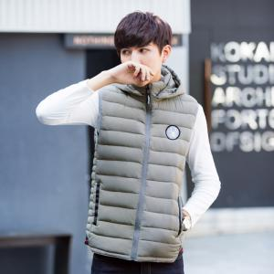 New Winter Hooded Cotton Vest -