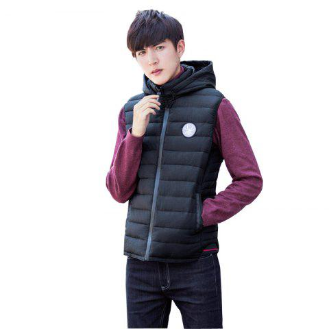 Fashion New Winter Hooded Cotton Vest