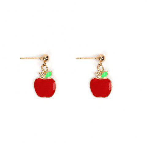 Buy Creative Models Small Red Apple Set Bracelet Earrings Necklaces Jewelry