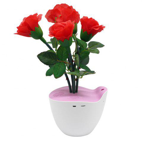 New D Bengo Smart Music Flowers Art with Motion Pot for Home Decoration