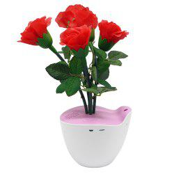 D Bengo Smart Music Flowers Art with Motion Pot for Home Decoration -