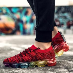 Athletic Breathable Cushion Men Running Shoes Sport Outdoor Jogging Walking Athletic Sneakers -