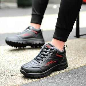 Warm Athletic Breathable Cushion Men Running Shoes Sport Outdoor Jogging Walking Athletic Sneakers -