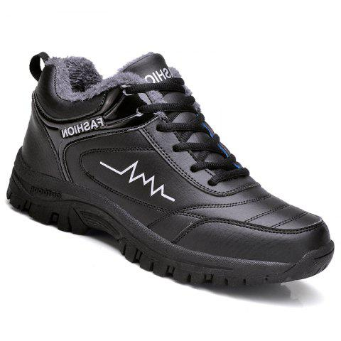 Trendy Warm Athletic Breathable Cushion Men Running Shoes Sport Outdoor Jogging Walking Athletic Sneakers