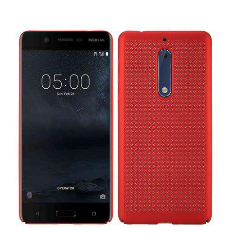 Affordable Heat Dissipation Ultra-thin Frosted Back Cover Solid Color Hard PC Case for Nokia 5